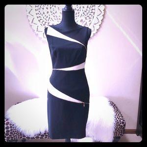 Cache Zipper Detailed Dress 🌟